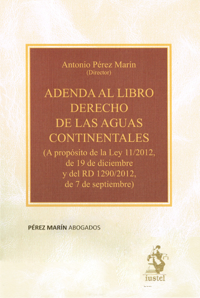 Publicaciones Pérez Marín Abogados - Adenda derecho de aguas