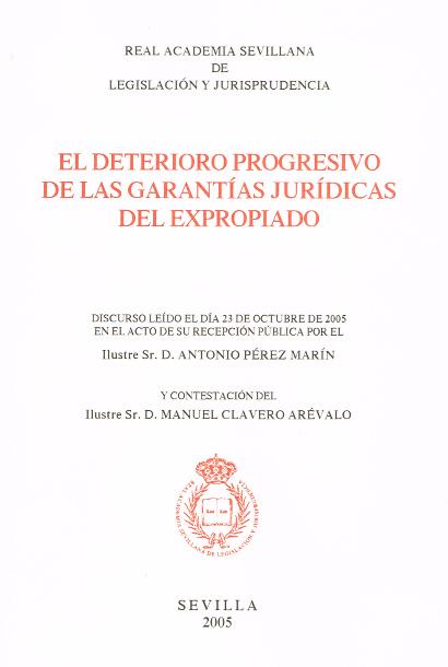 Publicaciones Pérez Marín Abogados - Deterioro expropiado