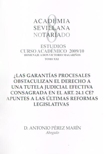 Publicaciones Pérez Marin Abogados - Garantías Procesales