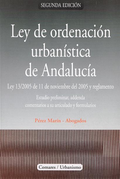 Publicaciones Pérez Marín Abogados - Ley ordenación urbanistica