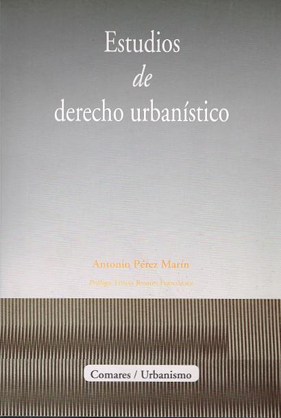 Publicaciones Pérez Marín Abogados - Derecho Urbanístico