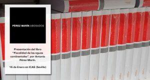 Cabecera presentación libro Fiscalidad Aguas Continentales